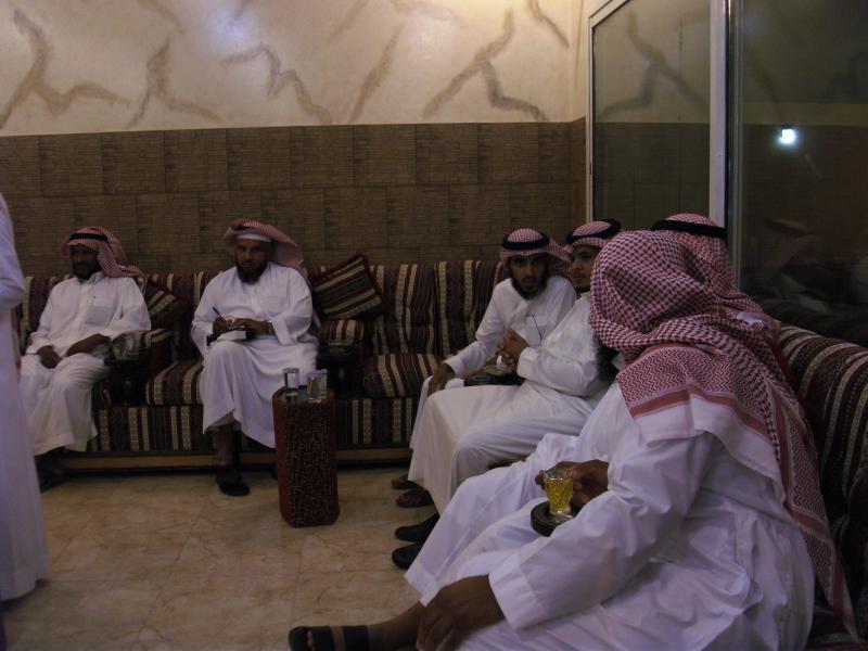 رحلة المجلس إلى الرياض وضيافة أسرتي الناصر والدعزاز الكريمتين 1432